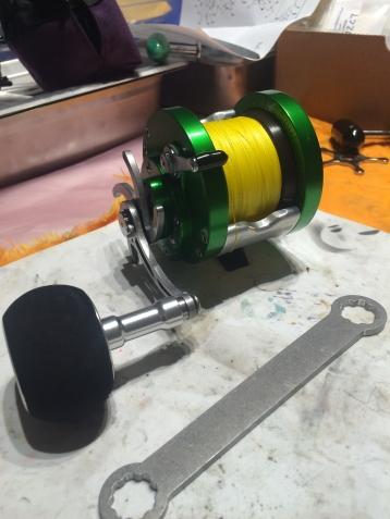 Custom Penn 501 Jigmaster