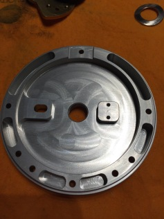 Inside non handle side plate