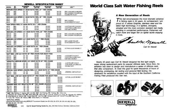 Newell Catalog