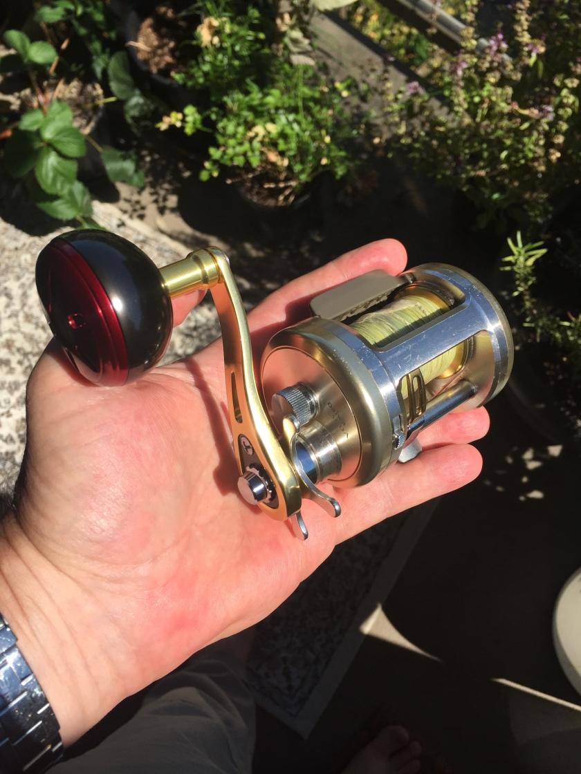 Daiwa Millionaire 300A Custom Handle and Knob