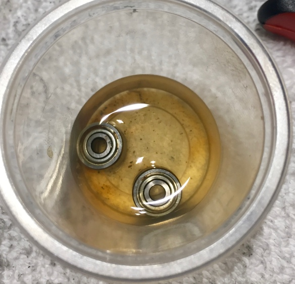 Bearings are not looking good